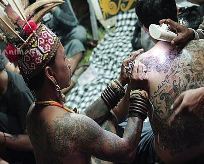 tato era kuno dulu tato digunakan sebagai nilai religious dan