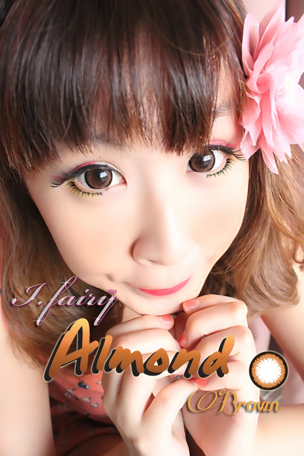 I.Fairy Almond Brown circle lenses review