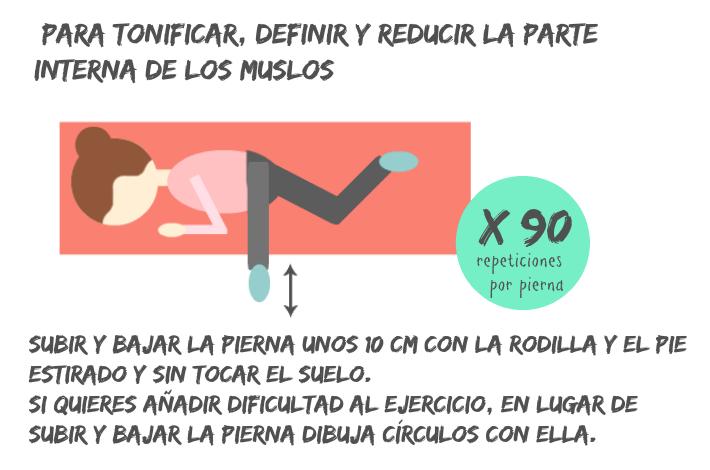 ejercicios para reducir muslos