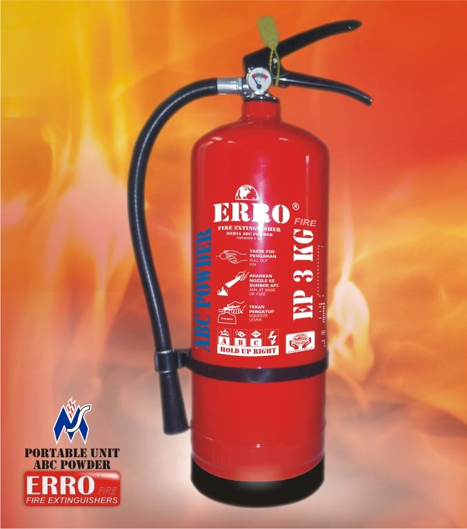 Harga Tabung Apar | Tabung Pemadam Api ABC Powder 3 Kg