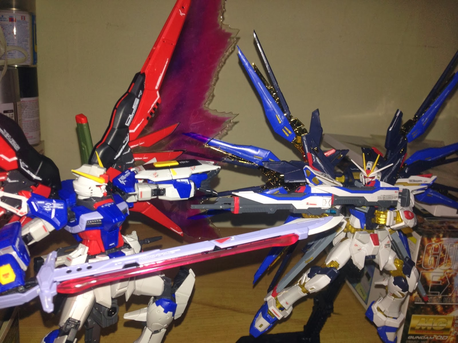 Gundam Strike Freedom Vs Destiny | www.pixshark.com ...