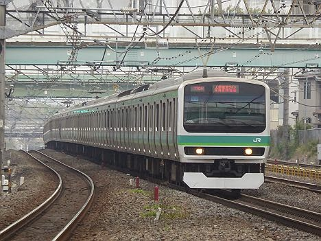 上野東京ライン 東海道線直通 E231系