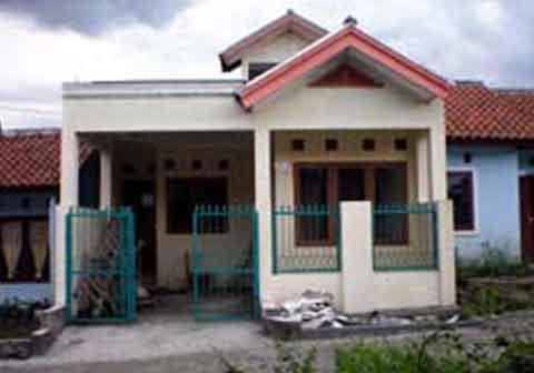 renovasi rumah kopel kpr btn gambar desain rumah minimalis