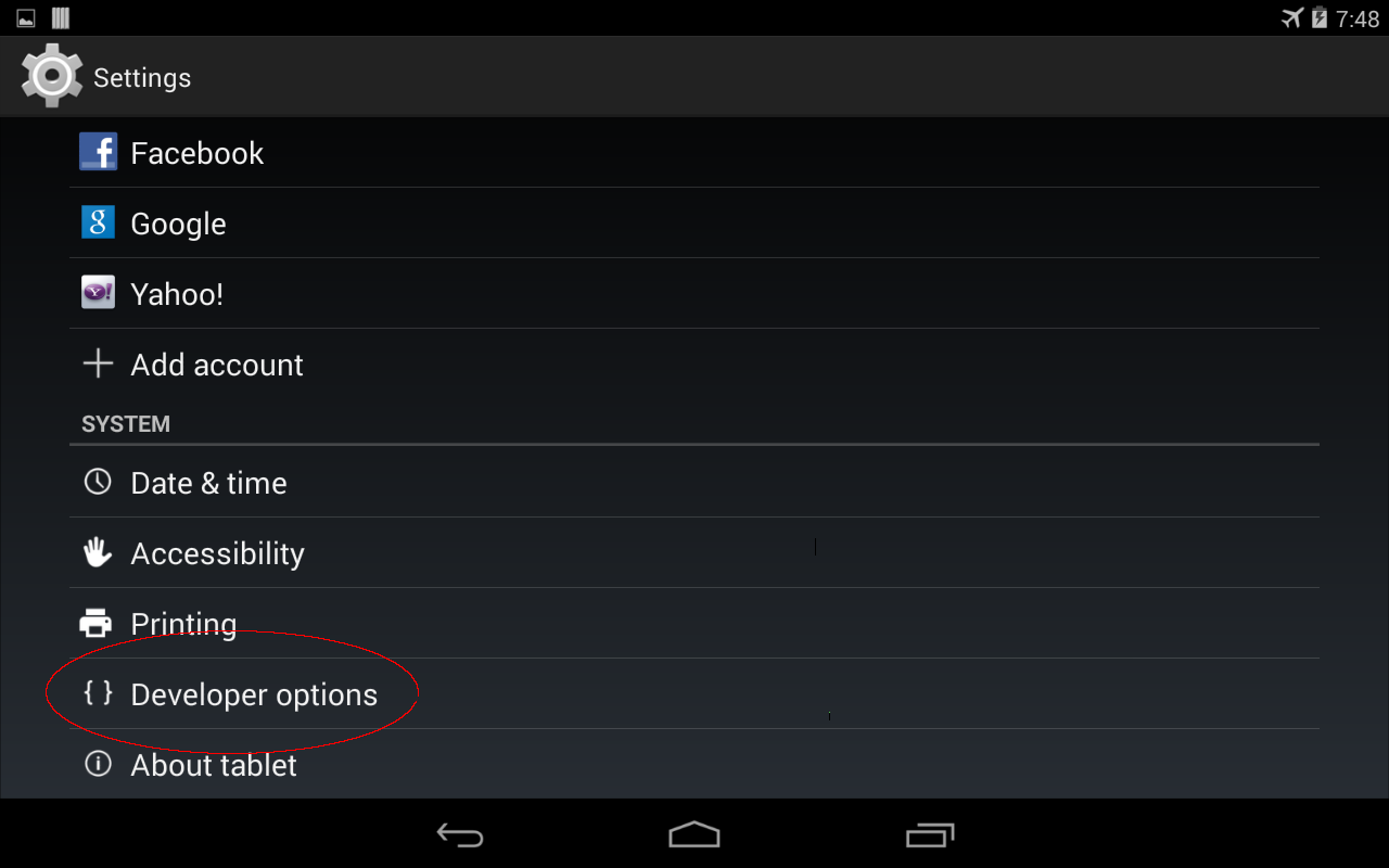 how to detect usb device in android