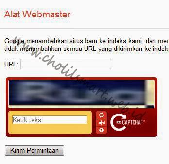 Cara mendaftarkan blog ke Google, Tips Index Google, Cara Cepat tampil dihalam utama google