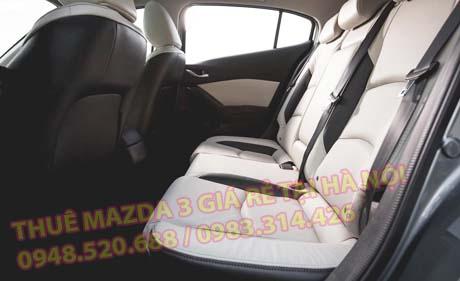nội thất xe ô tô cho thuê