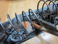 Weathering Warhammer 40k Barricades