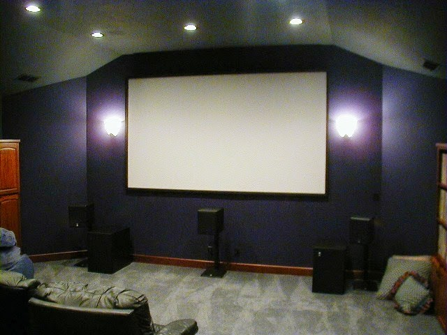 Wall painting colors for home Home theater colors
