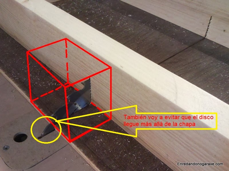 Mejorar la seguridad cubriendo esta zona y evitar poner ahí la mano. Enredandonogaraxe.com