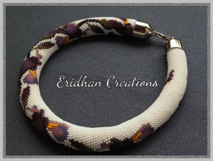 Eridhan Creations Beading Tutorials Irises Beaded Crochet