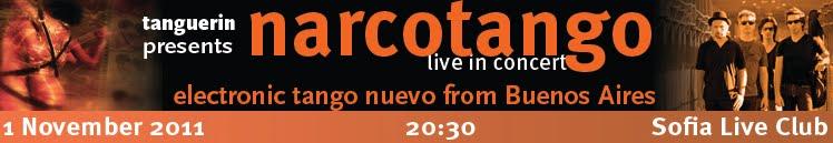 NARCOTANGO LIVE IN SOFIA