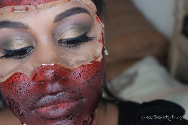 Halloween Makeup plastic surgery gone wrong botched