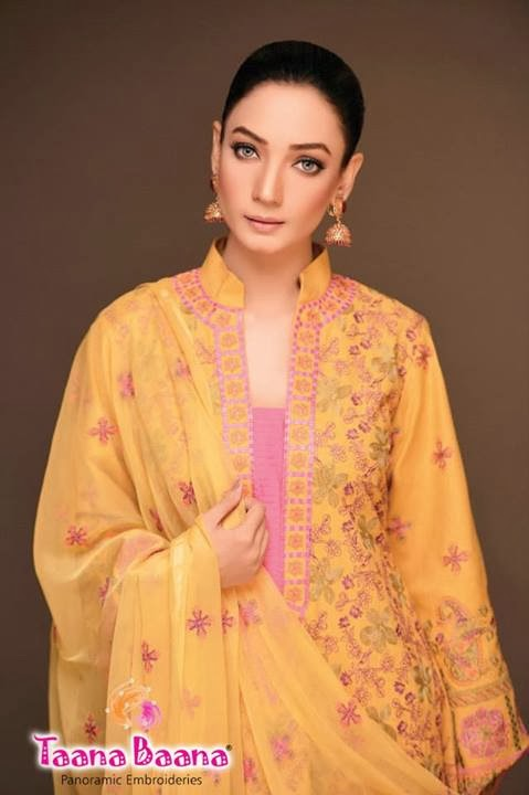 Summer Lawn Collection 2013 By Taana Bana   LONG HAIRSTYLES