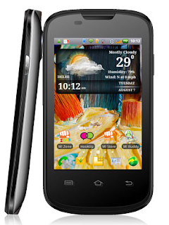 Micromax A57 Superfone Ninja 3 dual SIM smart phone