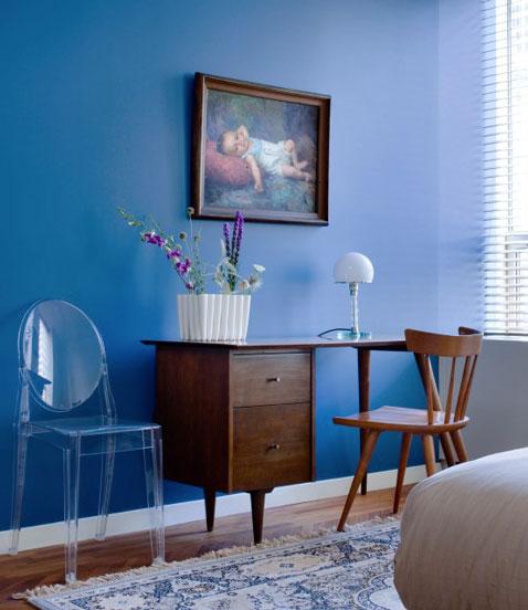 Color Azul, Tendencia de Decoración para la Sala de estar y  ~ Sala De Estar Azul