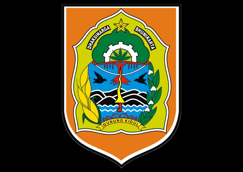 Kabupaten Gunung Kidul Logo Vector download free