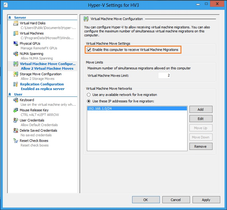 Aries 39 S Sysadmin Blog How To Enable Hyper V 3 0 Replica