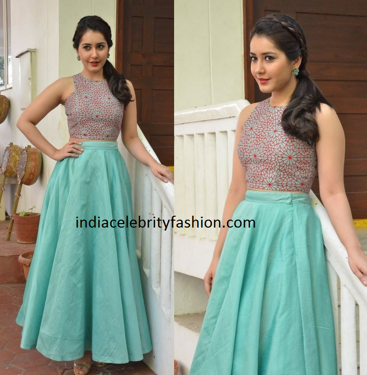 Raashi khanna in Sonali Srivastav Dress