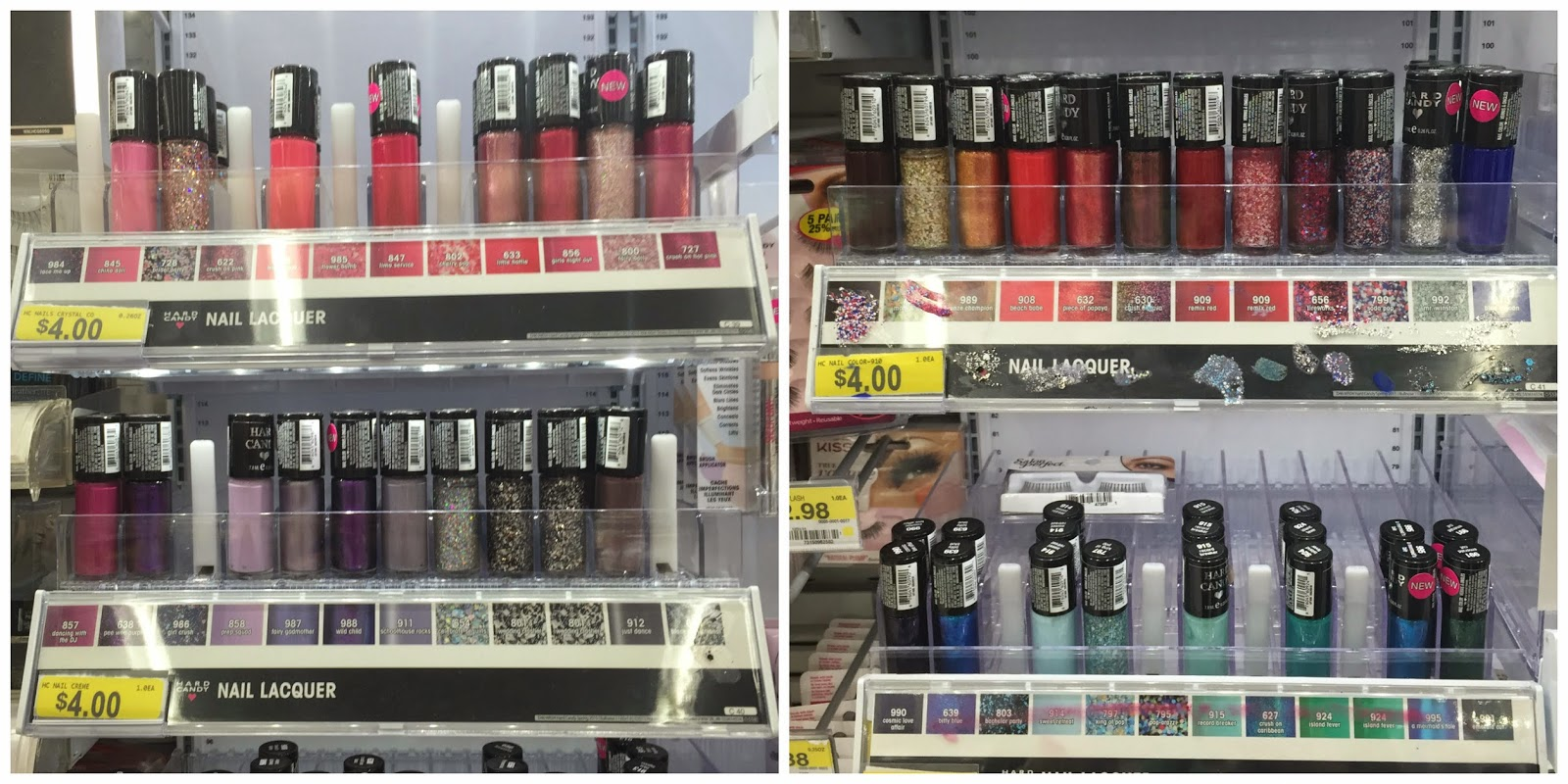 Hard Candy Spring 2015 Nail Polish Display