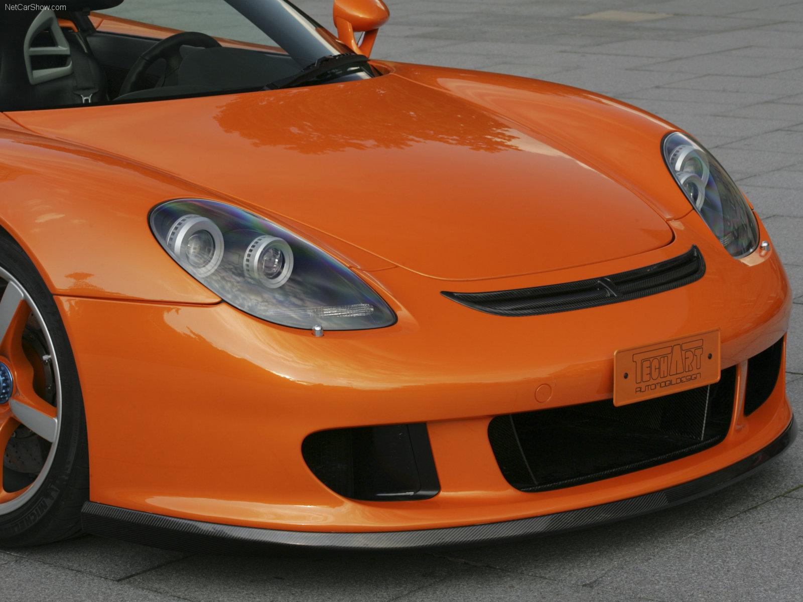 Hình ảnh xe ô tô TechArt Porsche Carrera GT 2007 & nội ngoại thất