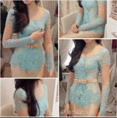 Foto Model Baju Kebaya Lace Design