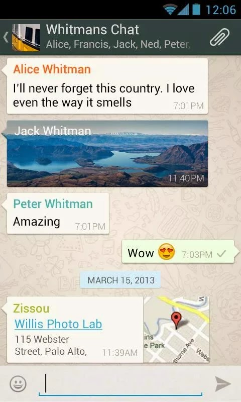 WhatsApp Messenger v2.11.476