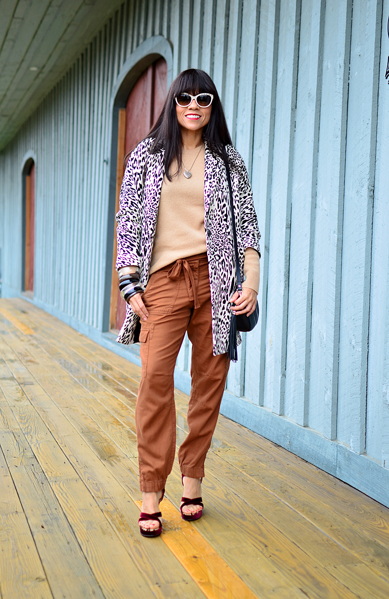 Camel color street style