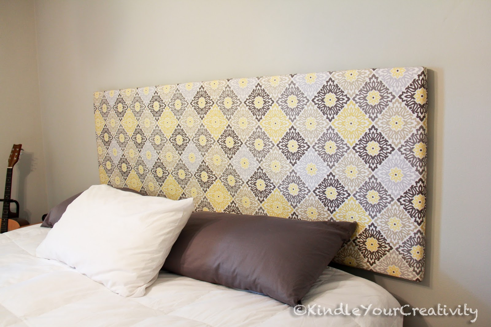 Kindle Your Creativity Master Bedroom Redo Diy Fabric