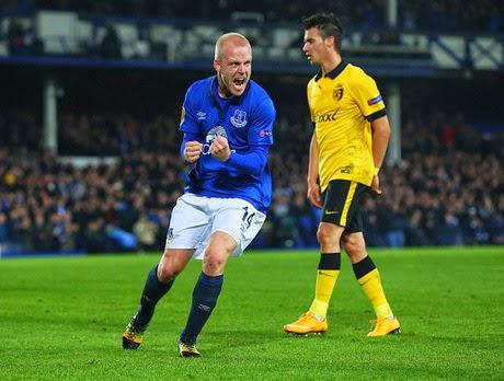 Liga Europa : Everton vs Lille 3-0