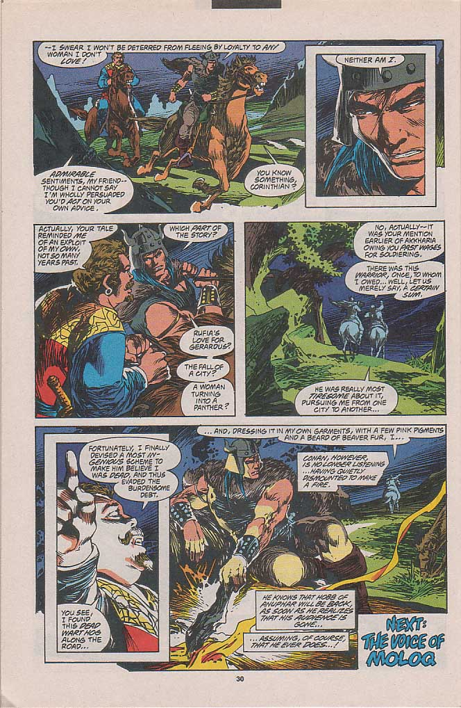 Conan the Barbarian (1970) Issue #262 #274 - English 22