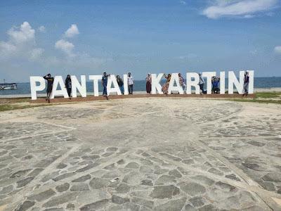 Tulisan Pantai Kartini