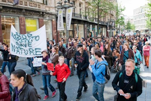 Marchas contra Monsanto por todo el mundo el 25 de Mayo 2013 Monsanto+Belgica