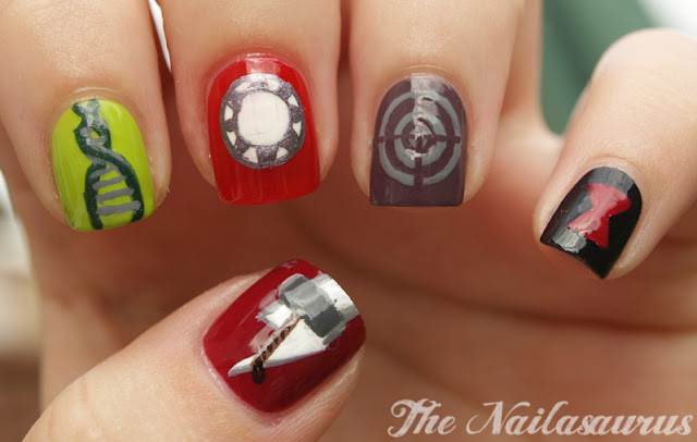 Some Assembly Required Avengers Nail Art Corner Nail Art