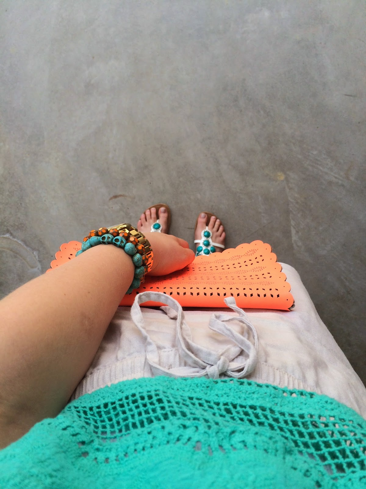 A very turquoise summer