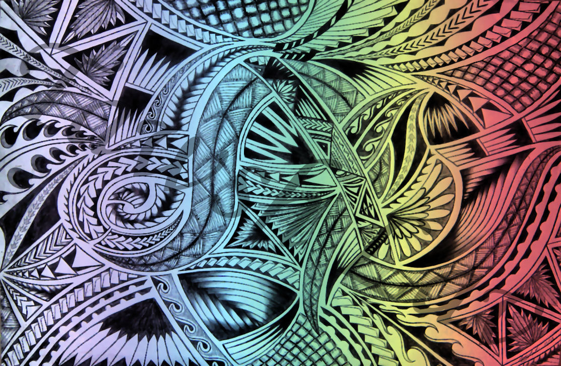 Samoan Art Designs : Tawsh lav