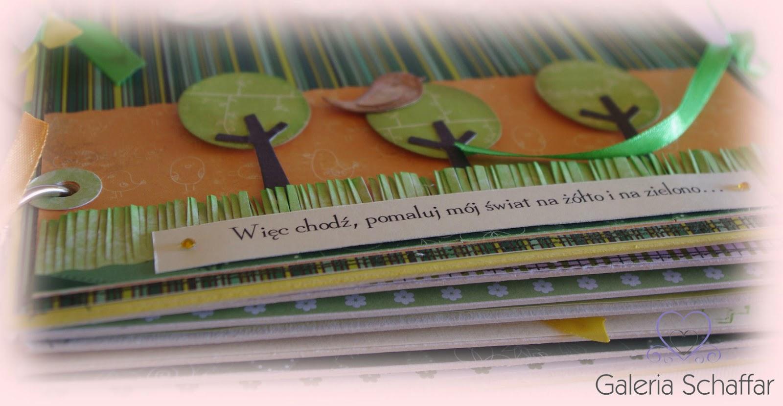album scrapbooking scrap pomysłowy prezent galeria schaffar