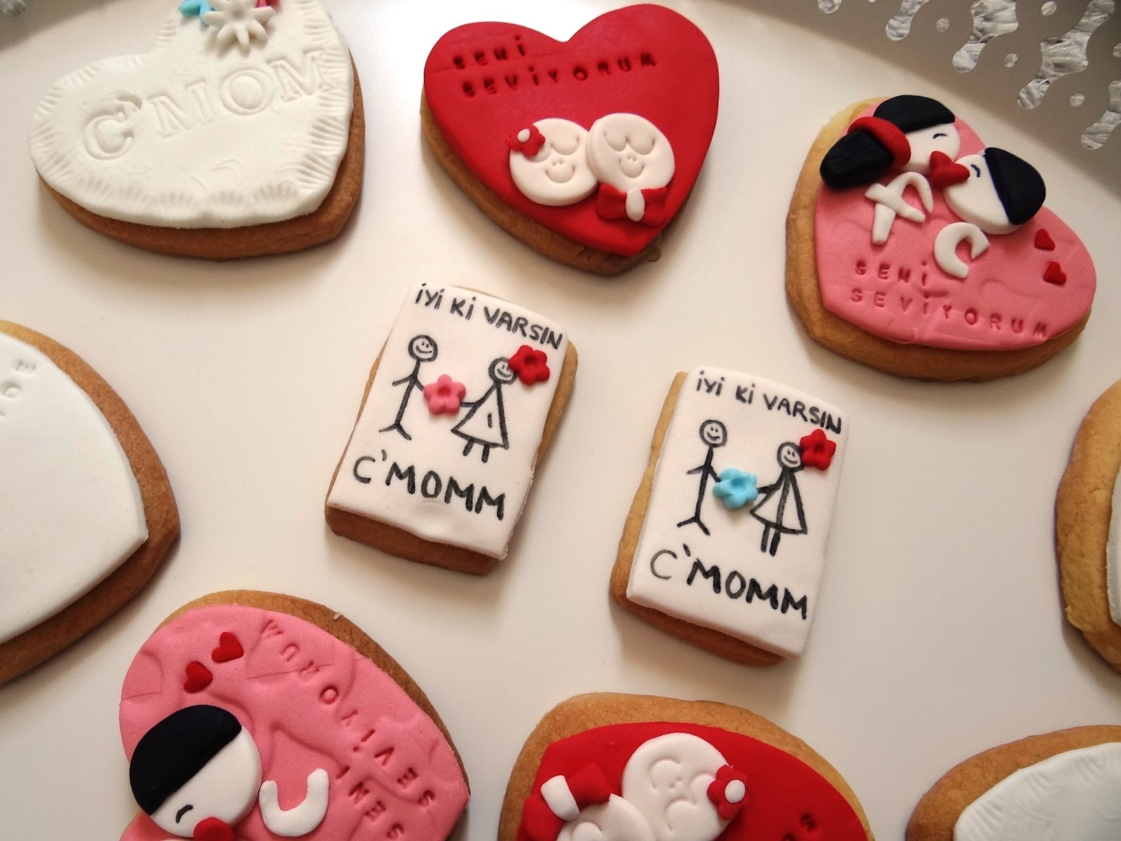 Sevgiliye kurabiyeler