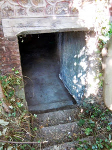 sous sol de maison de tanneur à Honfleur