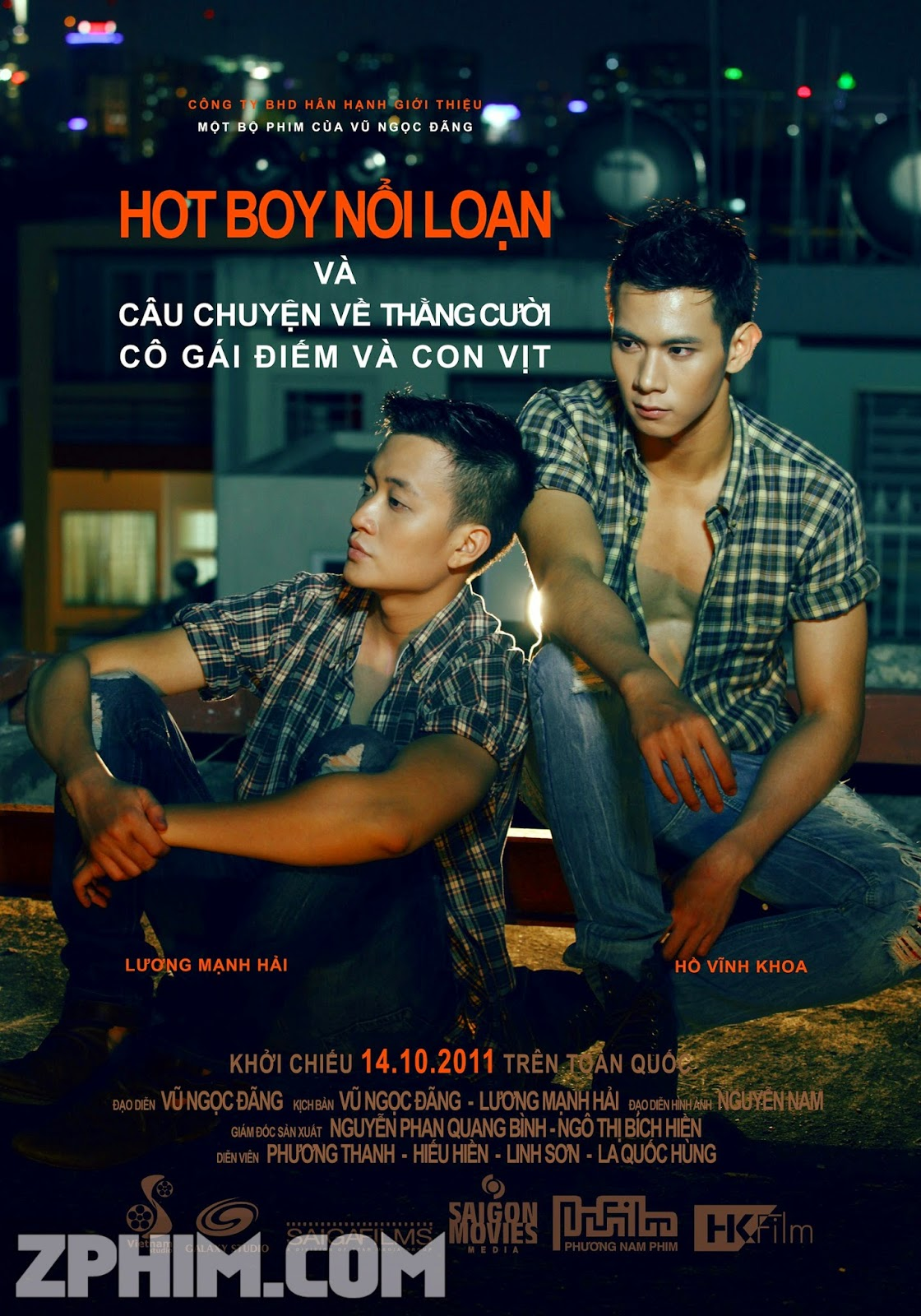 Hot Boy Nổi Loạn - Lost in Paradise (2011) Poster
