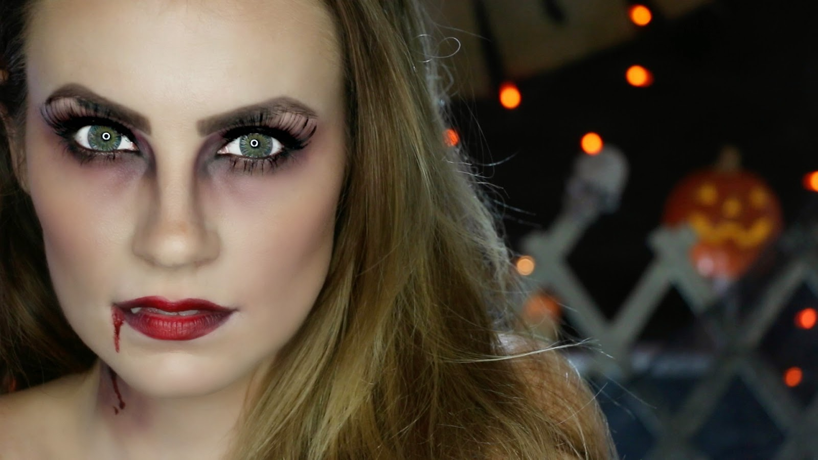 quick halloween makeup tutorial | halloween make up