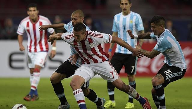 Ver partido Paraguay vs Argentina en vivo