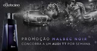 Promoção Malbec Noir - Boticário