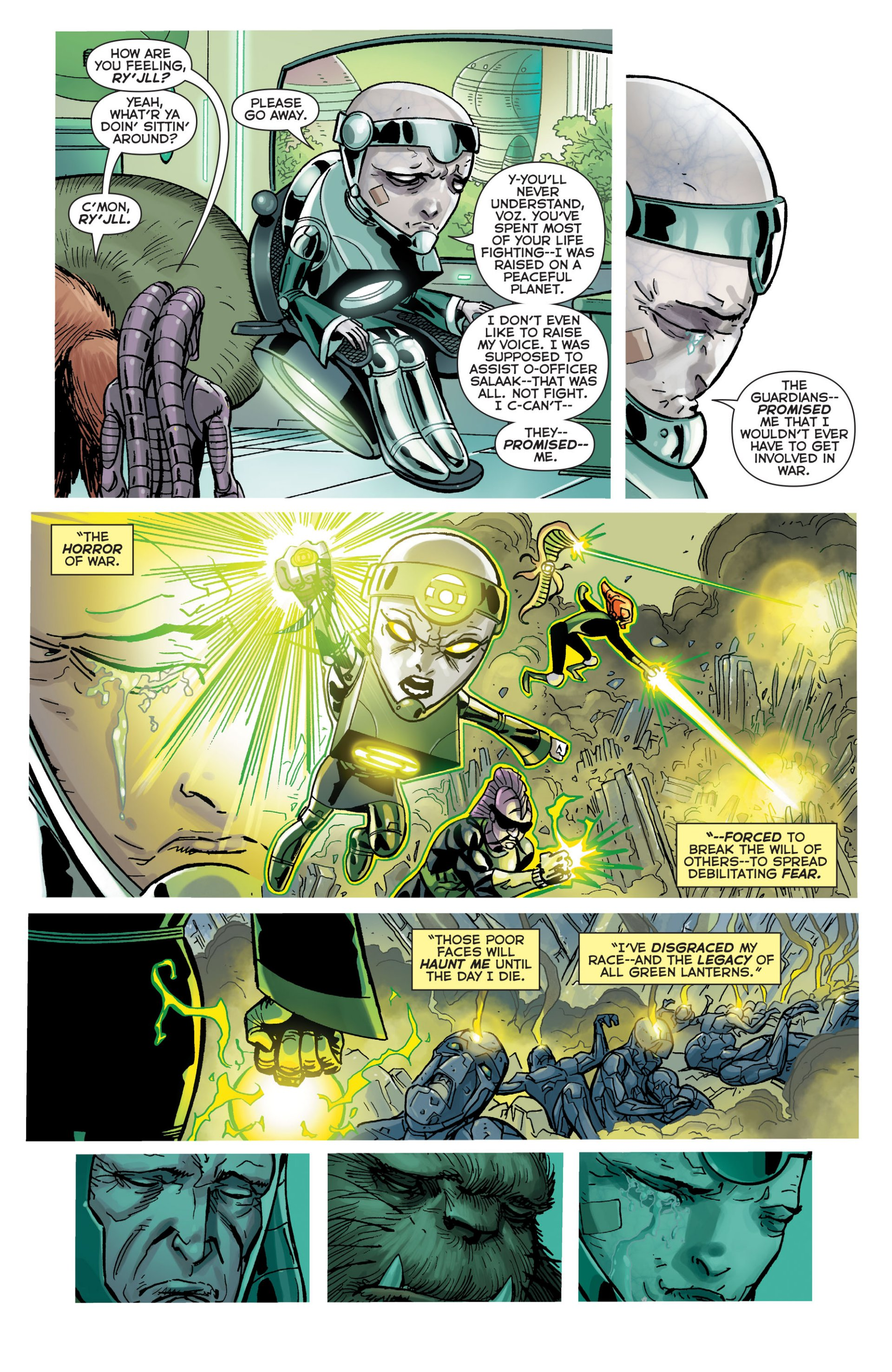 Read online Green Lantern Corps (2006) comic -  Issue #63 - 10