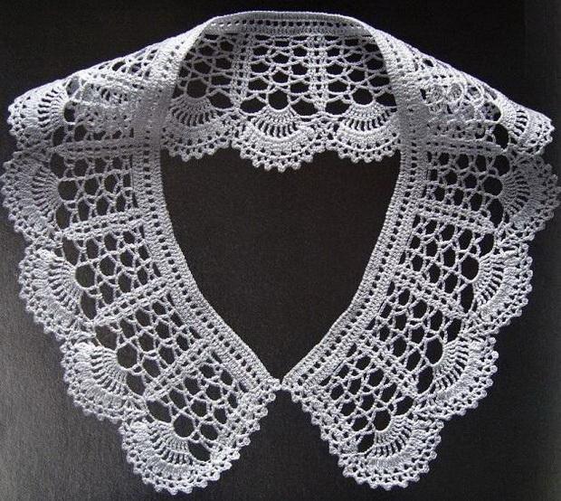 Stylish Easy Crochet: Crochet - Women Peter Pan Collar ...