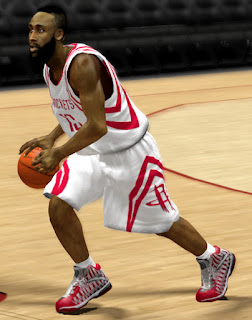 NBA 2K13 Houston Rockets - James Harden Shoes
