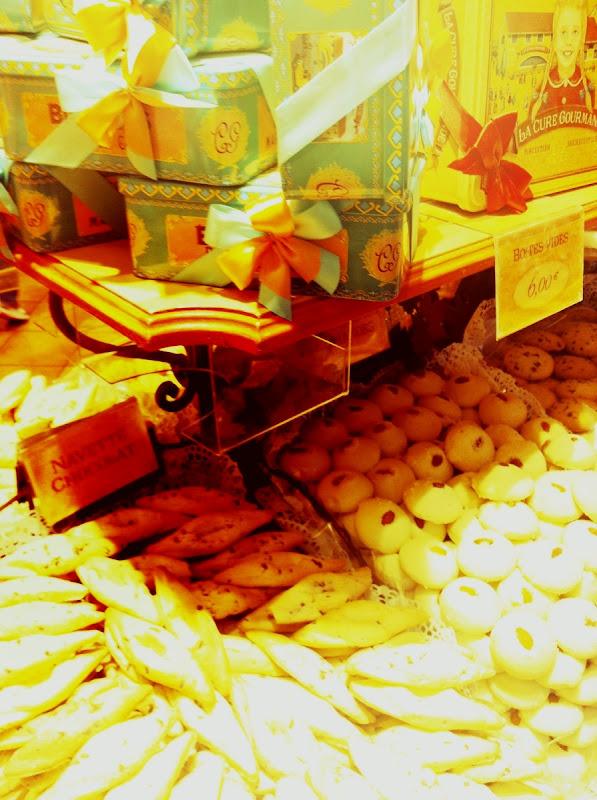 godisbutik, Paris, rosetter, kakor