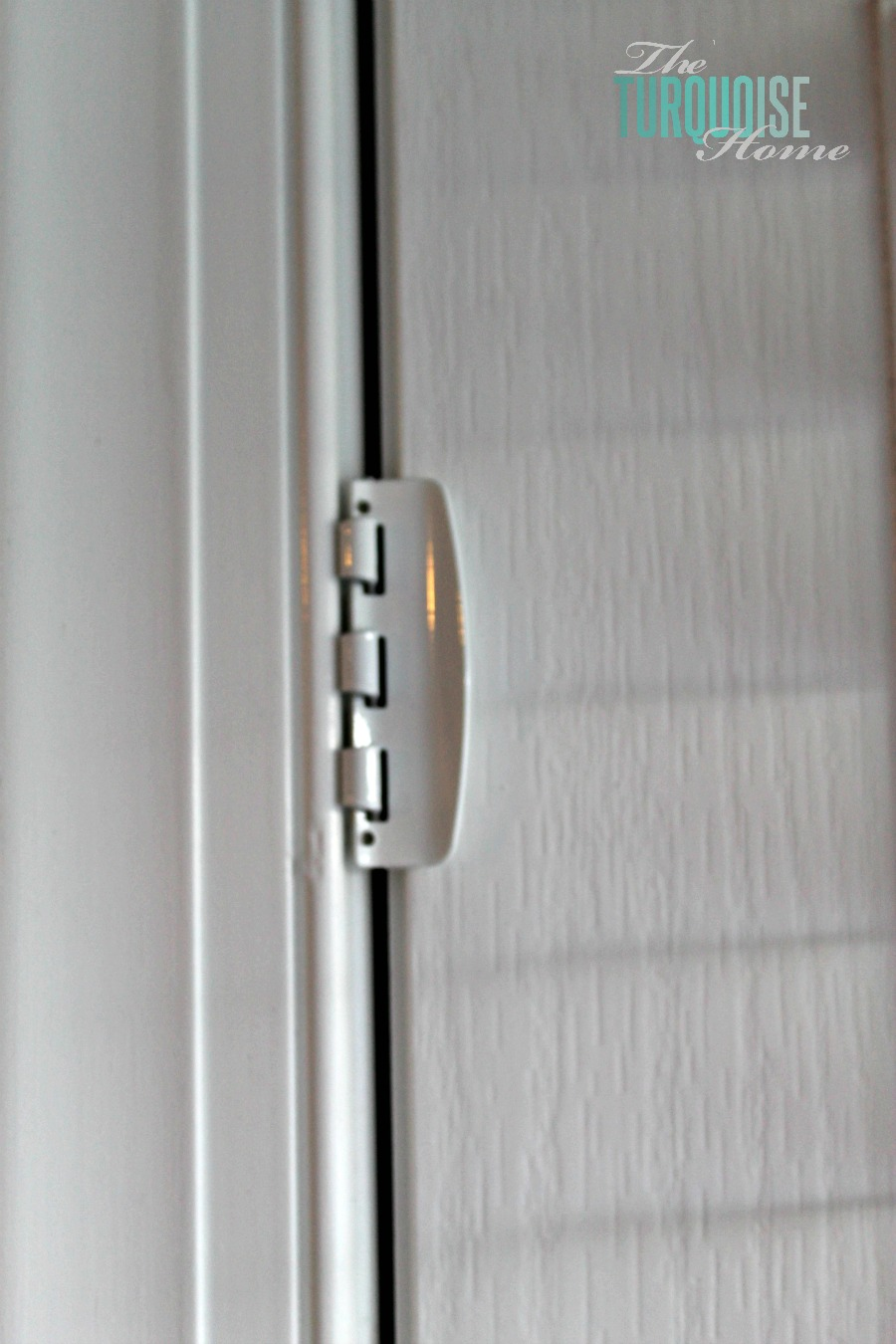 Open Front Door From Inside toddler safety: door flip locks | the turquoise home