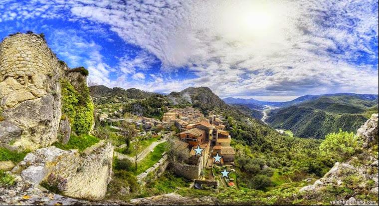 Vue depuis les ruines du château