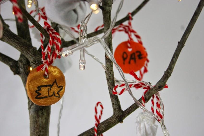 El árbol de navidad handmade de Decorar en familia - Adornos navideños con pasta de sal5
