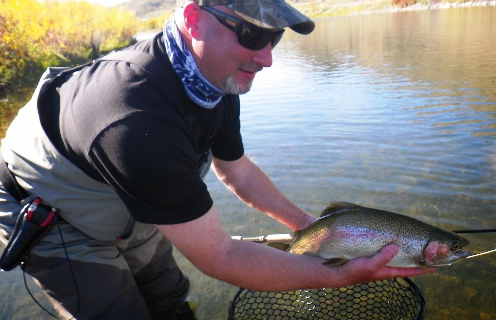 Montana: Missouri River - Fly Fishing with MicroSpey - Greg Darling